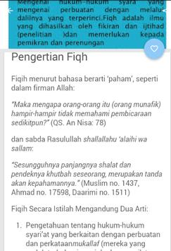 Fiqih Dan Aqidah Islam screenshot 2