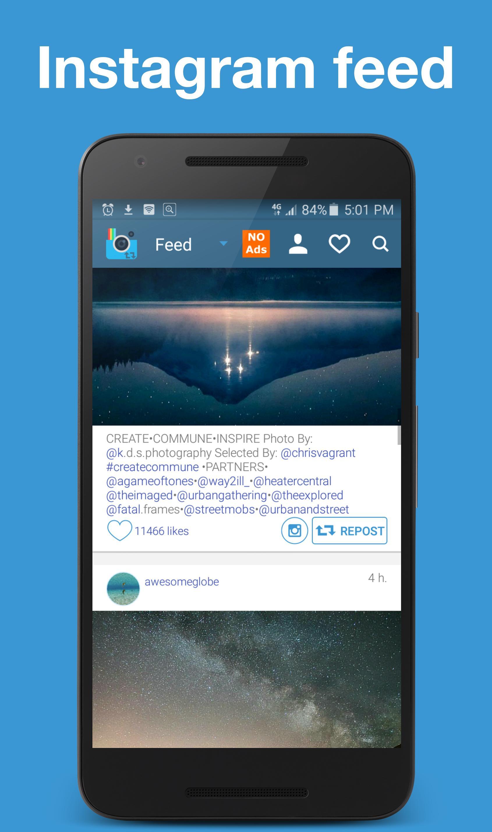 Ezrepost Repost Instagram For Android Apk Download