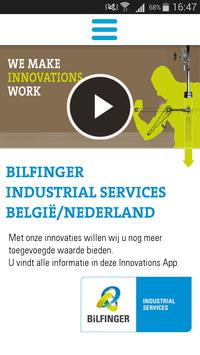Bilfinger Innovations App poster