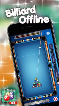 Pool Billiard Offline - FREE Offline Billiard Game screenshot 1