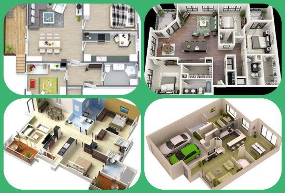 3d modern house plan apk download free lifestyle app for for Houseplan com