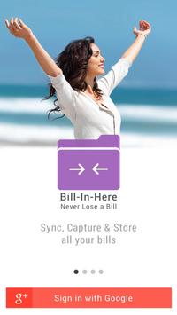 Bill-In-Here poster