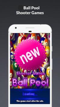 Ball Pool Shooter Games poster