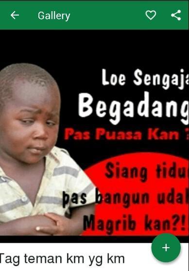 Dp Meme Lucu Puasa Ramadhan для андроид скачать Apk