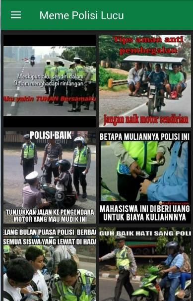 Meme Polisi Lucu for Android APK Download