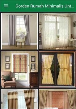 Gorden Minimalis Untuk Jendela poster