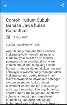 Kultum Bahasa Jawa Singkat For Android Apk Download