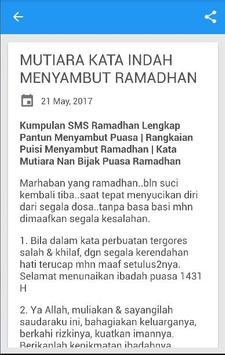 Kata Mutiara Puasa Ramadhan apk screenshot