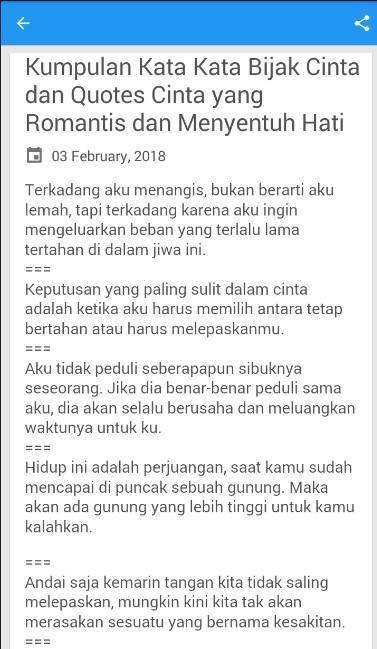 Kata Cinta Romantis Islami For Android Apk Download