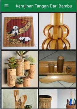 Kerajinan Tangan Dari Bambu poster