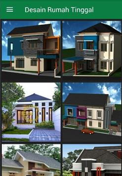 Desain Model Rumah Tinggal poster