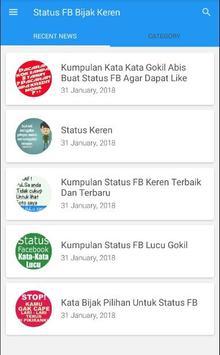 Status Fb Bijak Keren Apk App Free Download For Android