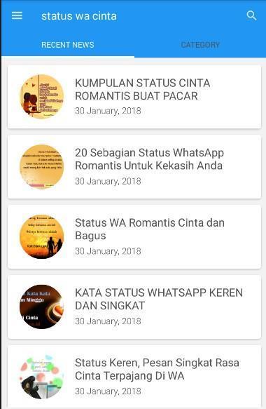 Status Wa Cinta For Android Apk Download