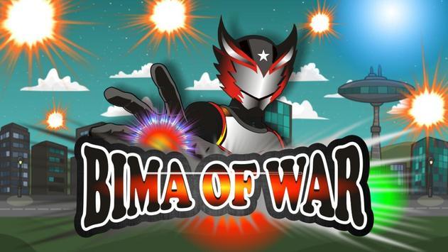 BIMA of WAR poster
