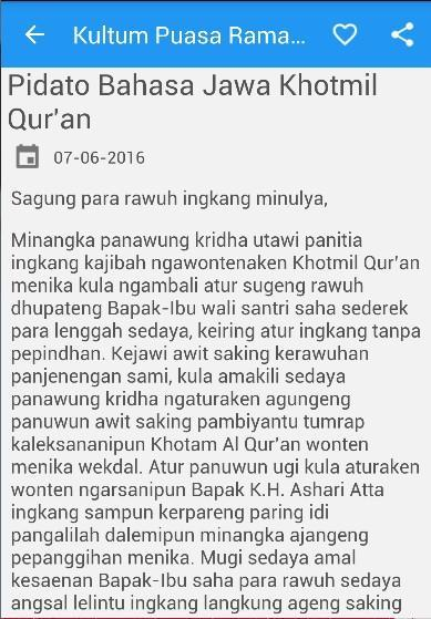 Kultum Bahasa Jawa Khutbah For Android Apk Download