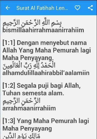 Surat Al Fatihah Arab Latin For Android Apk Download
