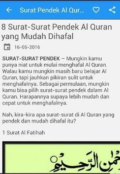 Surat Pendek Al Quran Lengkap Apk App Free Download For