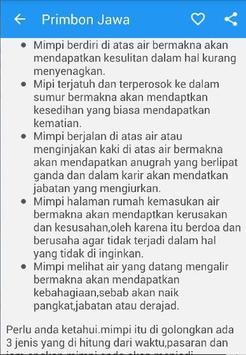 Primbon Jawa Weton Arti Mimpi Apk Screenshot