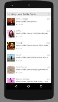 Mere Rashke Qamar song screenshot 2
