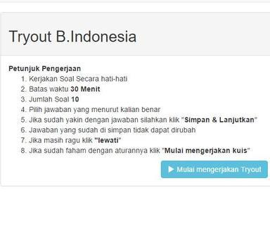 Try Out Bimbel Polri screenshot 1