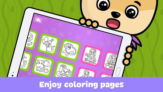 Kids doodle games and free drawing for toddlers apk screenshot