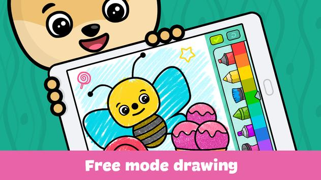kids doodle games and free drawing for toddlers poster - Drawing Games For Toddlers