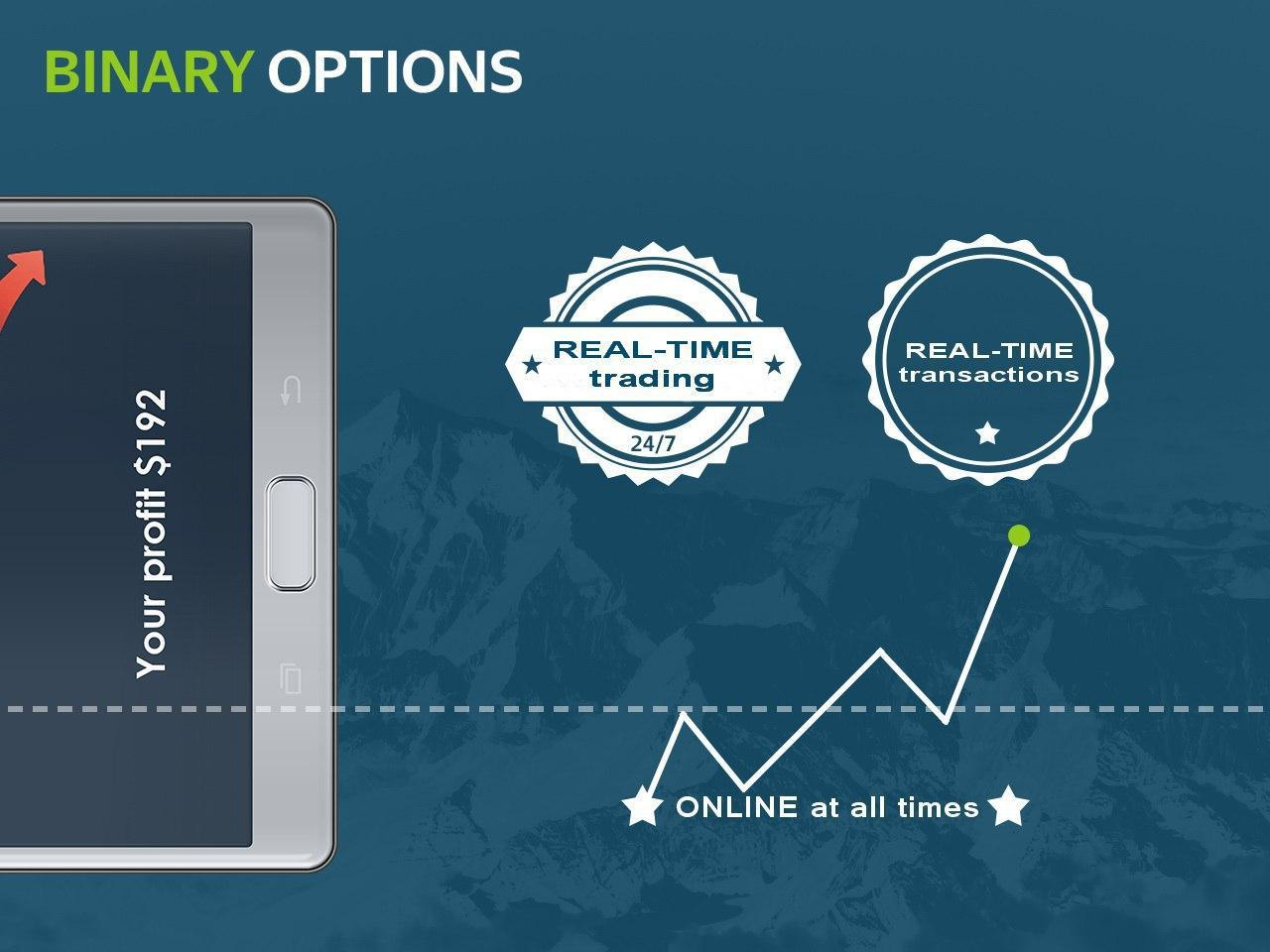 Binary options simulation