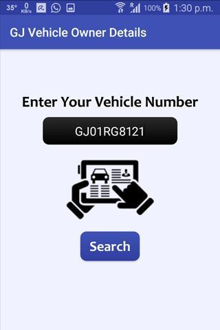 GJ Vehicle Owner Details poster