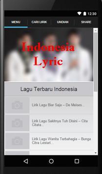 Lirik Lagu screenshot 11