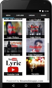 Lirik Lagu screenshot 1