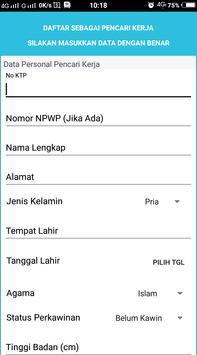 Klik Kerja Disnakerperin Surakarta apk screenshot