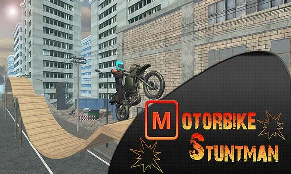 Motorbike Stuntman poster