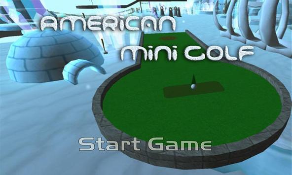 American Mini Golf 海報