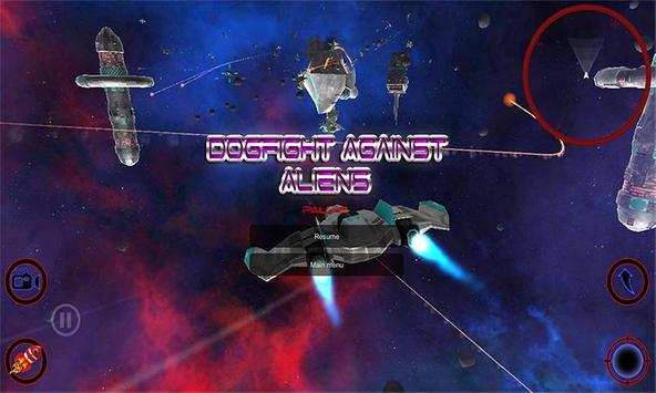 Dogfight Against Aliens screenshot 6