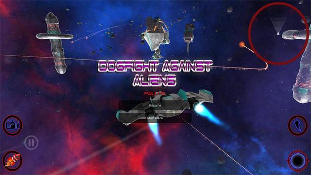 Dogfight Against Aliens screenshot 14