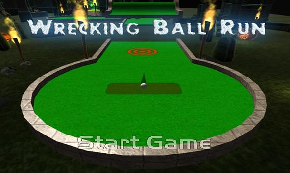 Wrecking Ball Run poster