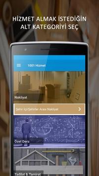 1001 Hizmet apk screenshot