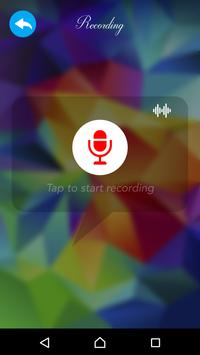 Voice Changer with more Effect apk screenshot