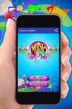 Carson Lueders Musica Letras apk screenshot
