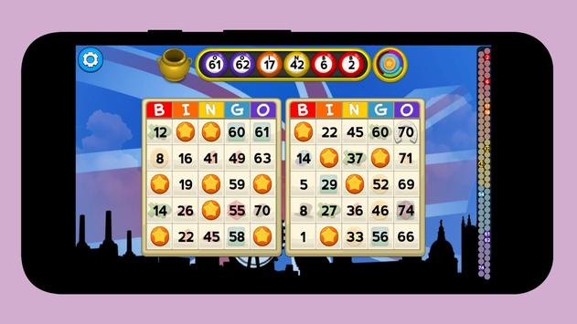 Bingo games for free screenshot 1