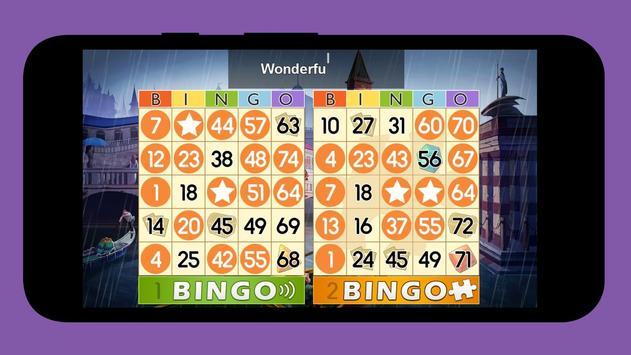 Offline bingo poster