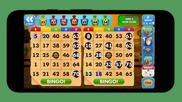 Free bingo apk screenshot
