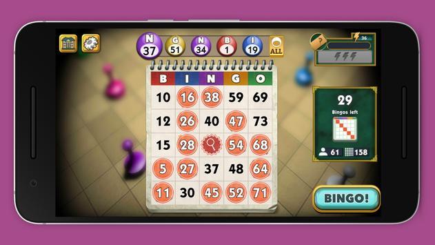 Games bingo poster