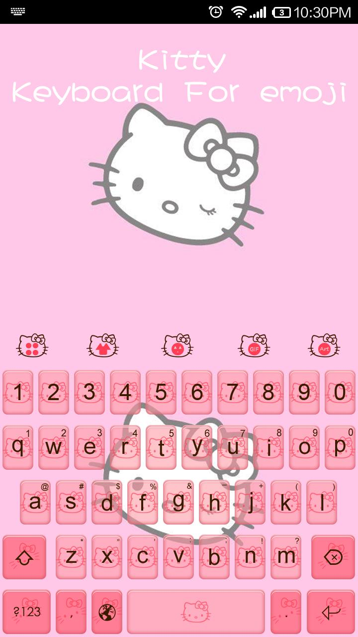 Hello Kitty Emoji Keyboard For Android Apk Download
