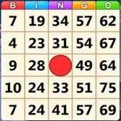 Simple bingo icon