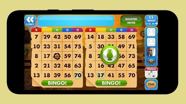 Simple bingo poster