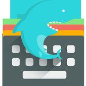 Emoji Keyboard-Gif Shark Free icon