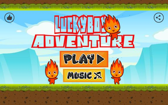 Super LuckyBoy Adventure poster