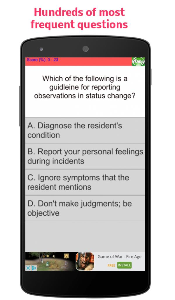 Cna Quiz Practice Test For Android Apk Download