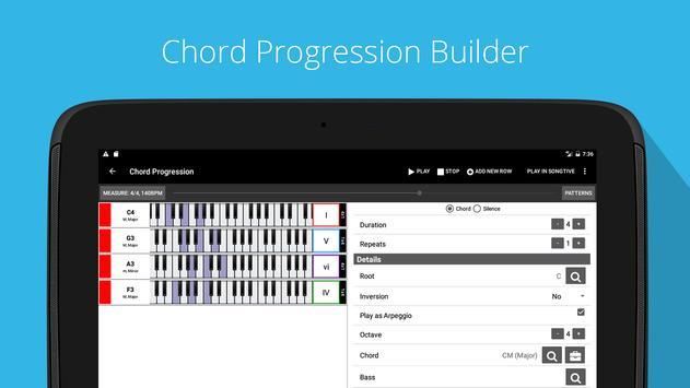 Piano Chords, Scales, Progression Companion PRO Ekran Görüntüsü 7